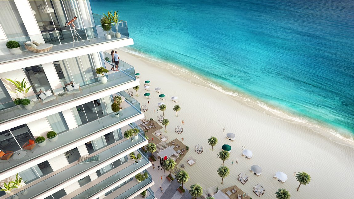 New developements for sale in sunrise bay towers 1 & 2, emaar beachfront - 2