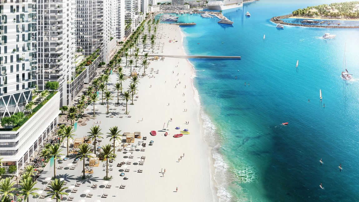 New developements for sale in sunrise bay towers 1 & 2, emaar beachfront - 3