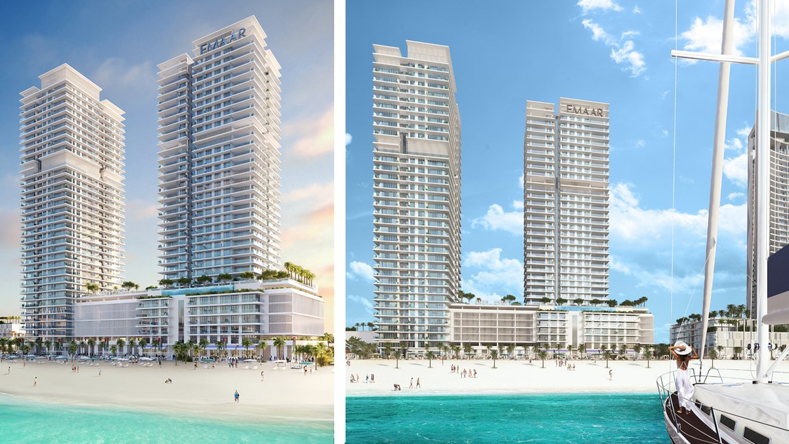 New developements for sale in sunrise bay towers 1 & 2, emaar beachfront - 4