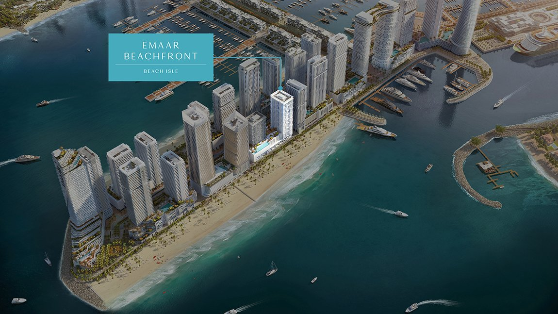 New developements for sale in beach isle at emaar beachfront - 14