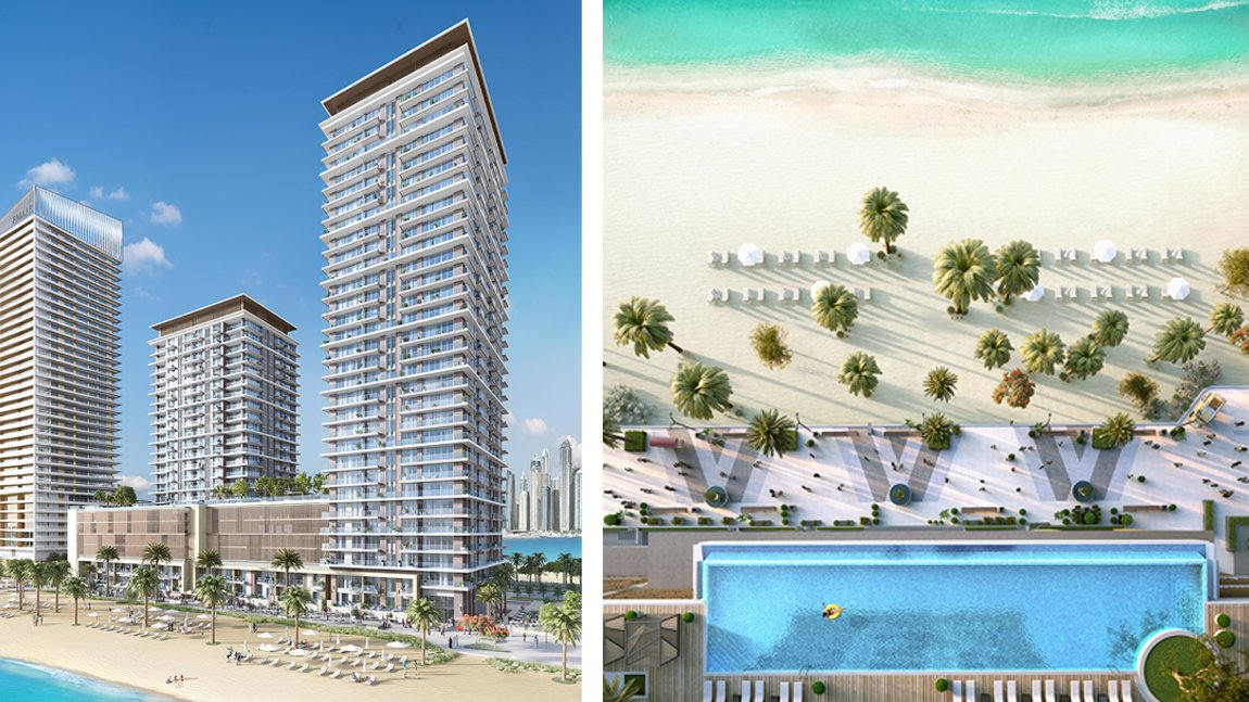 New developements for sale in beach isle at emaar beachfront - 4