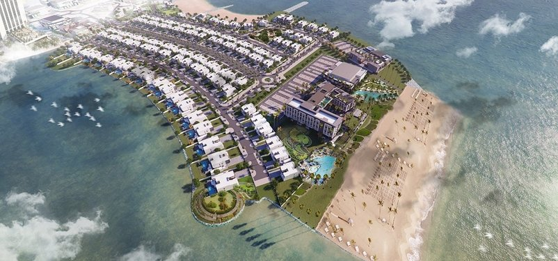 New Homes La Mer Maisons by Meraas