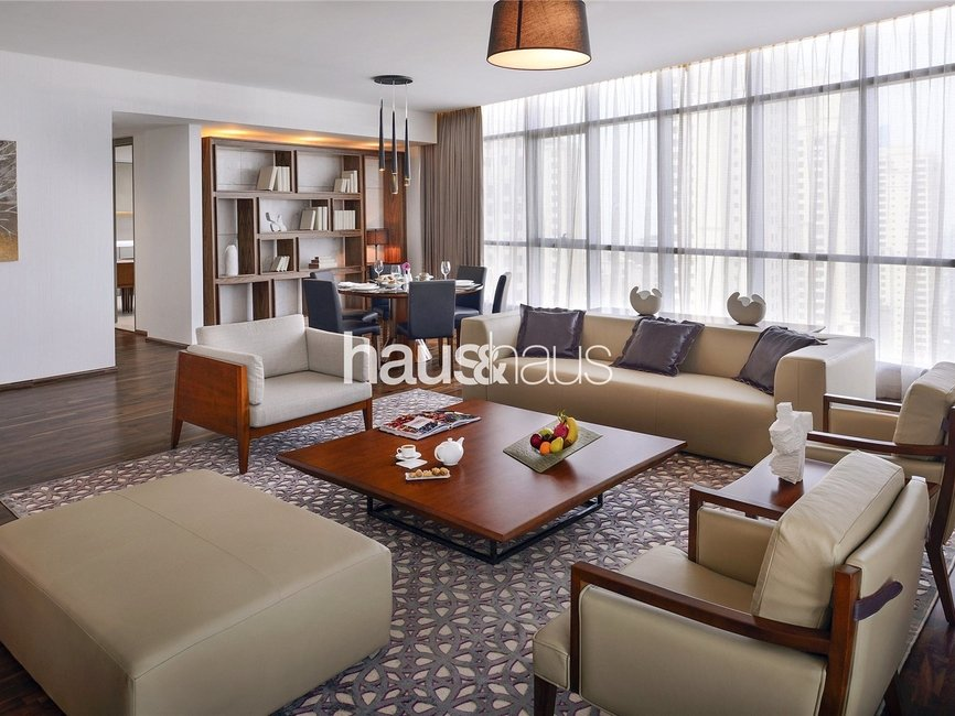 4 bedroom Apartment for rent in InterContinental Dubai Marina - view - 2