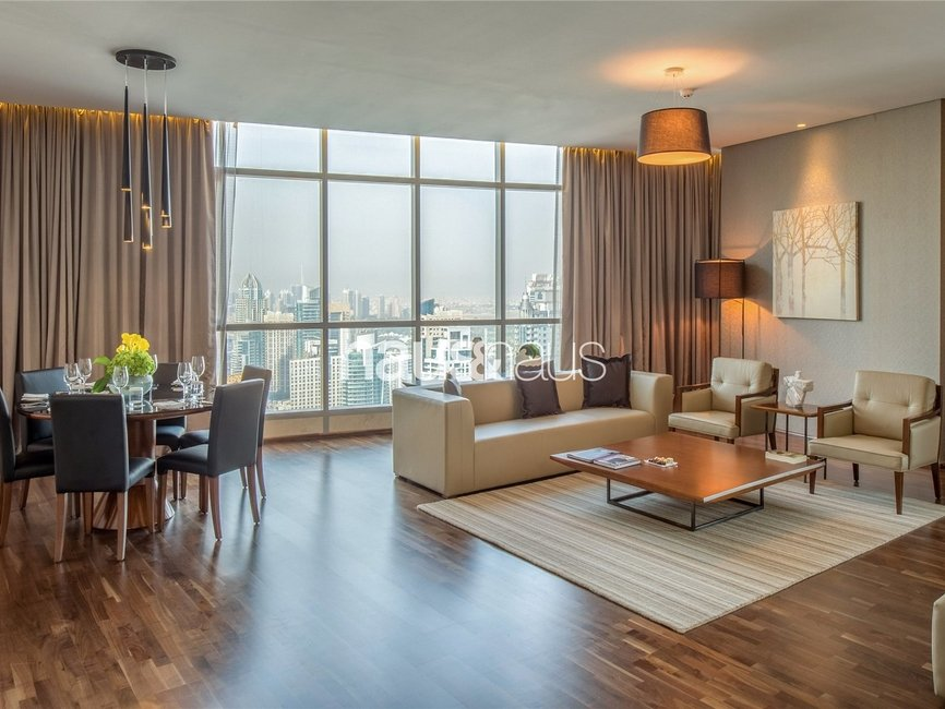 4 bedroom Apartment for rent in InterContinental Dubai Marina - view - 1