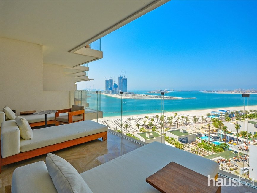 2 bedroom Apartment for rent in FIVE Palm Jumeirah - view - 1