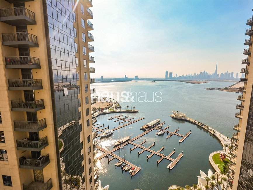 2 bedroom Apartment for rent in Dubai Creek Residence Tower 2 North - view - 1