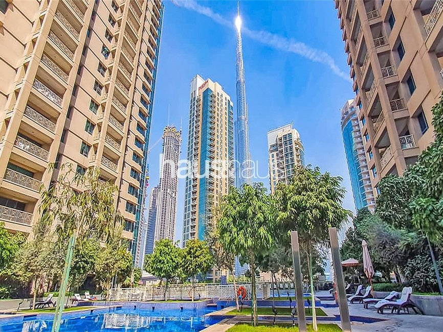 1 bedroom Apartment for sale in 29 Burj Boulevard Tower 1 - view - 1