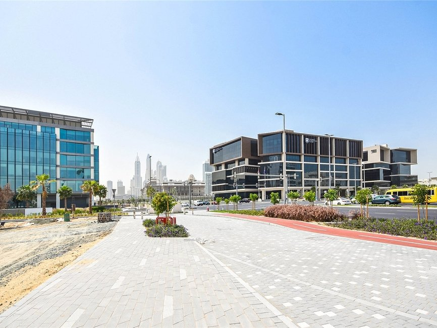 Land for sale in Dubai Media City - view - 1