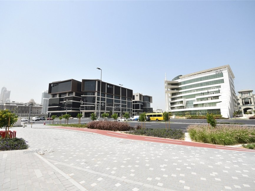 Land for sale in Dubai Media City - view - 2