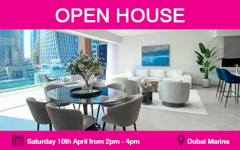 Open House at Jumeirah Living Marina Gate
